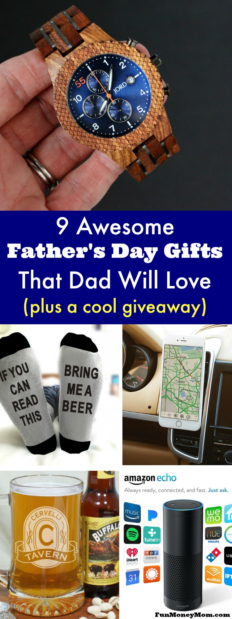 Looking for the best Father's Day gifts for the man in your life? Check out these suggestions, plus enter to win an awesome giveaway.