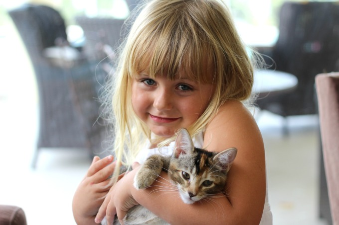 She didn't know this kitty would be teaching her some valuable life lessons.