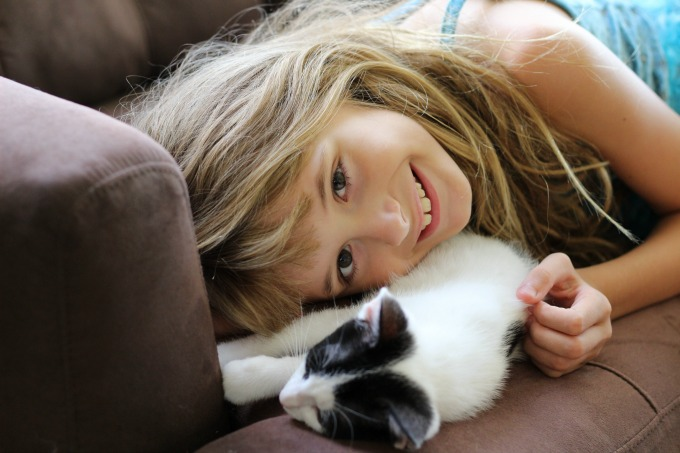There are plenty of life lessons that having a pet can teach your child.