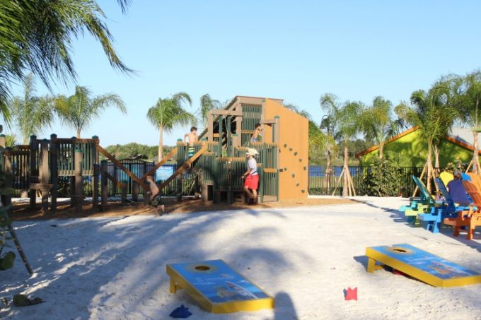 The Legoland Beach Retreat has more than just a pool to entertain the kids.