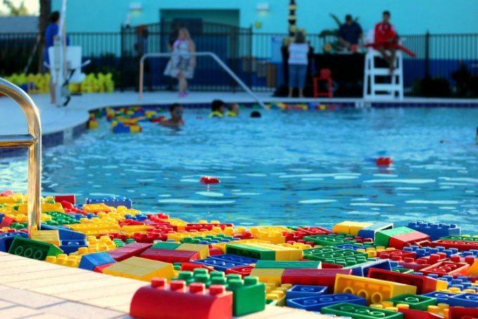 My girls loved the pool at Legoland Beach Retreat