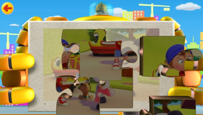 The Noddy Toyland Detective app teaches literacy and problem solving