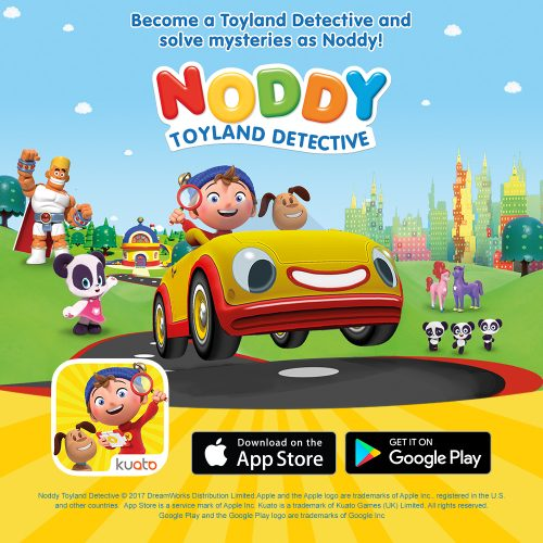 Noddy Toyland Detective now has his own app