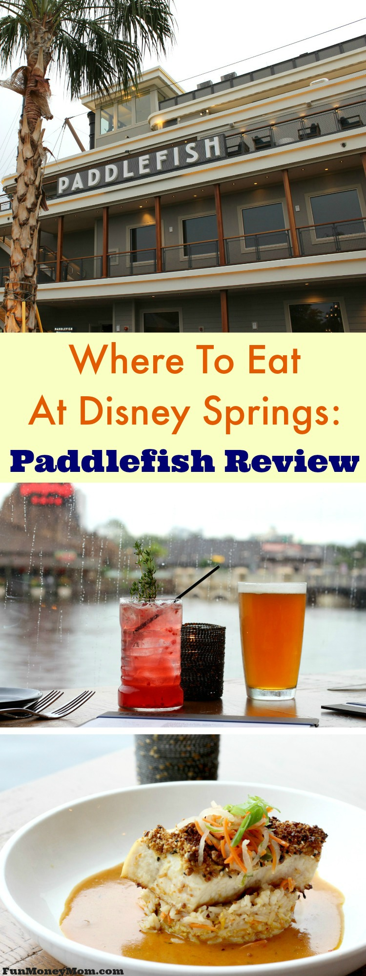 Trying to decide where to eat at Disney Springs? There are no shortage of great restaurants but only one where you can dine on a paddleboat overlooking the water. Find out why you should visit Paddlefish next time you head to Disney Springs.