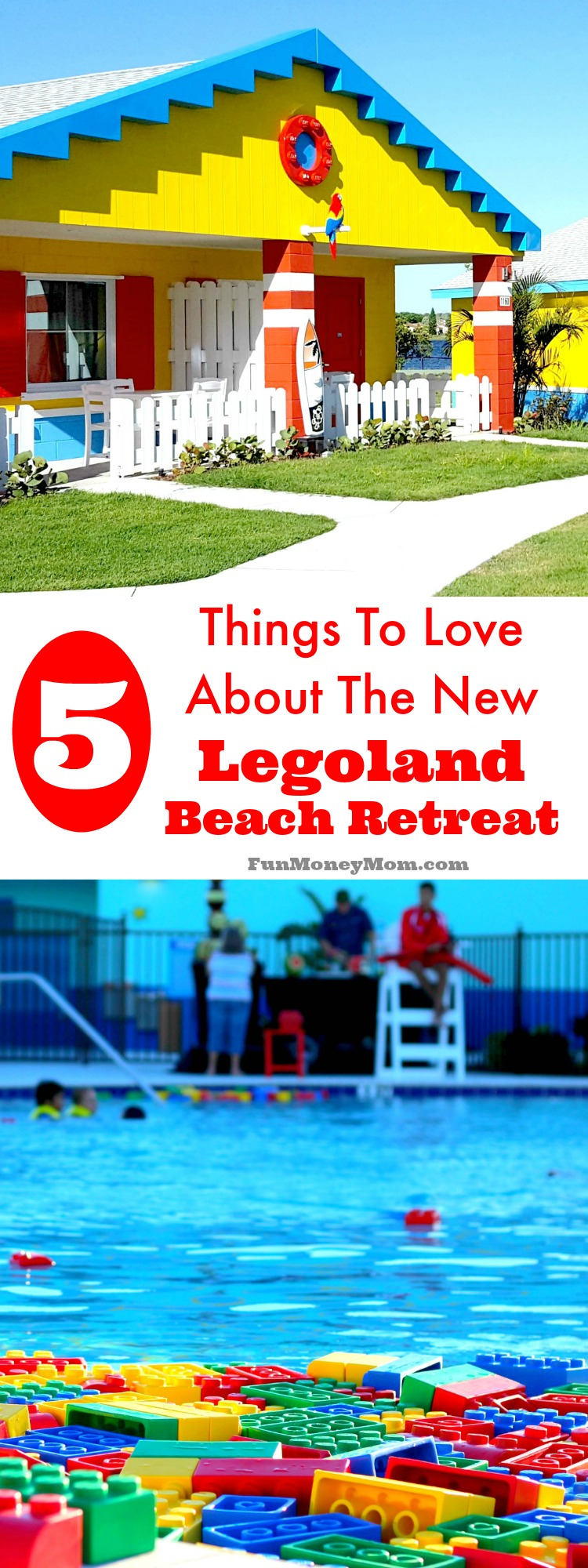Have you ever wanted to stay in a Lego house? Now you can if you visit the new Legoland Beach Retreat at Legoland Florida. Find out what makes this new Orlando hotel a place you're not going to want to miss!