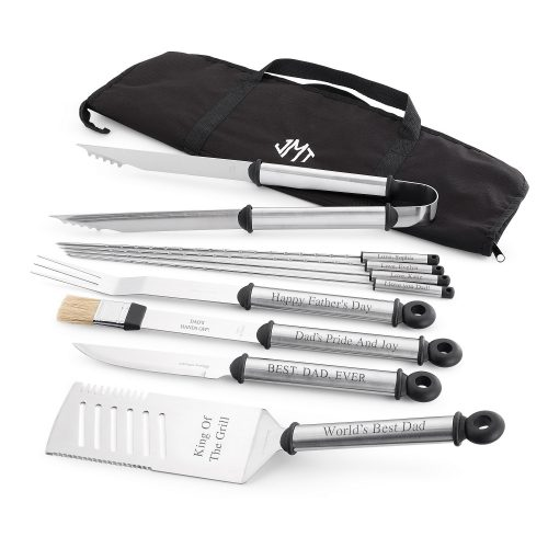 If dad loves to grill, grilling sets make great Father's Day gifts.