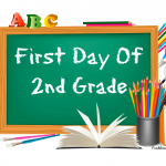 2nd grade first day of school signs