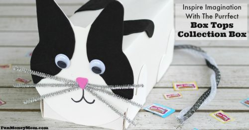 Cute Ideas For Valentine's Day Boxes: Purrfect Cat