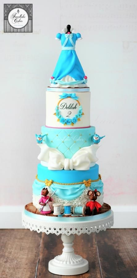 25 Amazing Disney Princess Cakes That You Have To See To