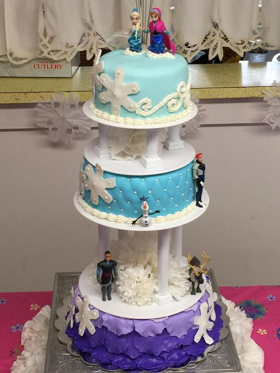 Disney princess cakes Frozen
