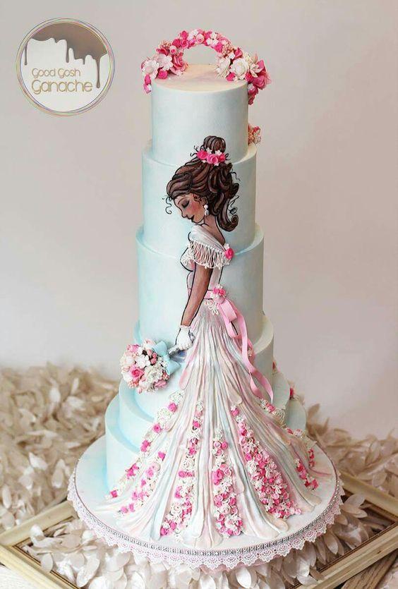Disney Princess Cakes Tiana
