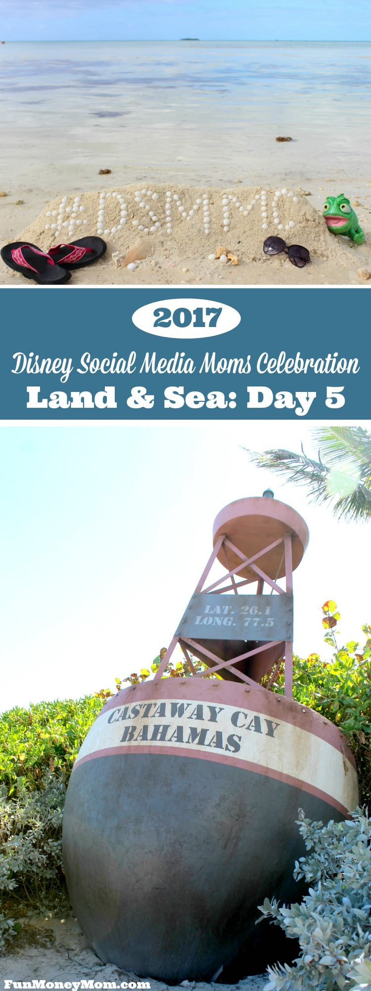 Follow along on Day 5 of the 2017 Disney Social Media Moms Celebration where I experienced the tropical paradise of Castaway Cay, Disney's very own private island in the Bahamas.