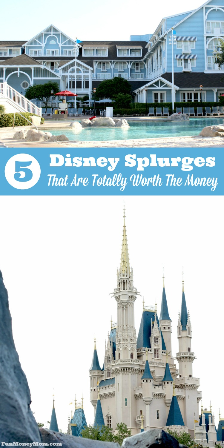 Want to know which Walt Disney World experiences are totally worth the extra money? These are the 5 Disney splurges that will make your Disney vacation even more memorable.