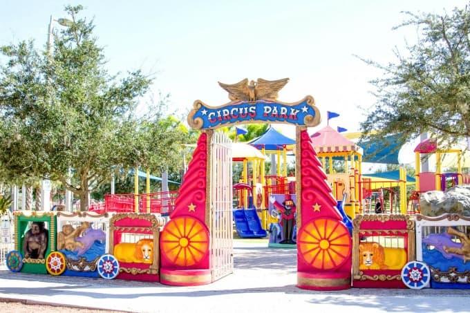 Entrance to Circus Park