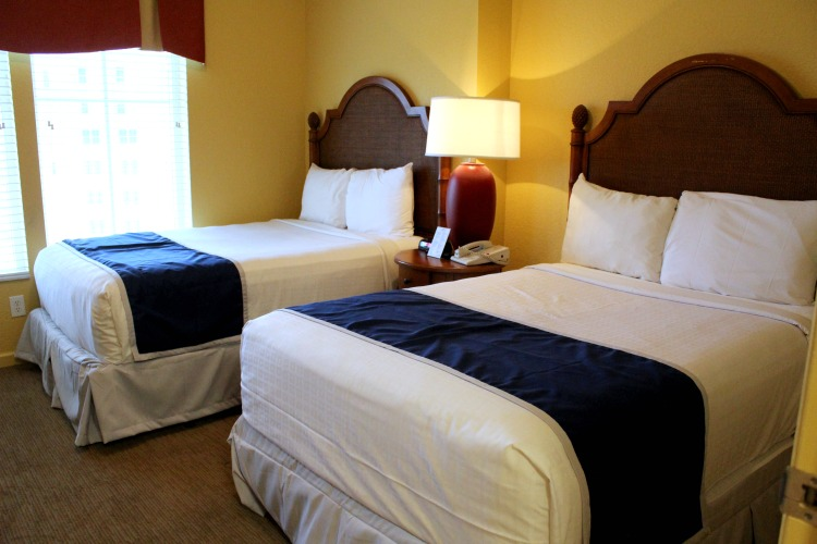 The Lake Buena Vista Resort Village And Spa Suites come with one, two, three or four bedrooms