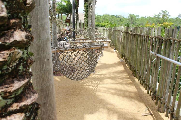 You can nap in the hammocks at The Lake Buena Vista Resort Village And Spa