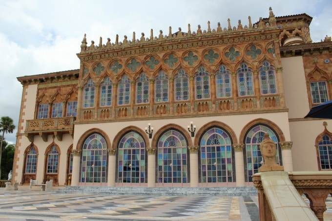 Ca' D' Zan is the opulant former home of John and Mabel Ringling