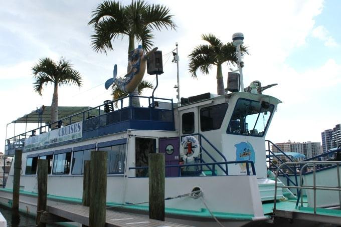 The Lebarge Sunset Cruise is one reason why #YouOtaVisit Sarasota, Florida