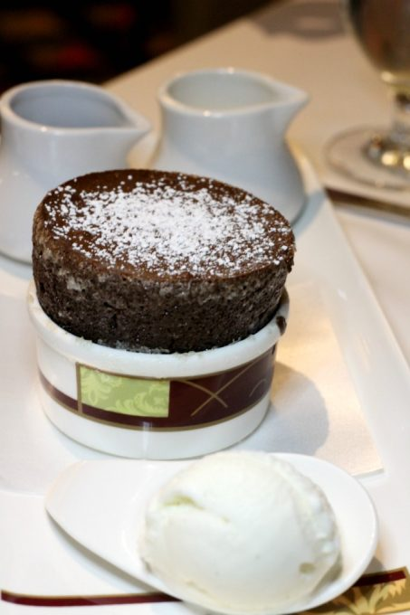 If you dine at Palo, be sure to try the chocolate souffle