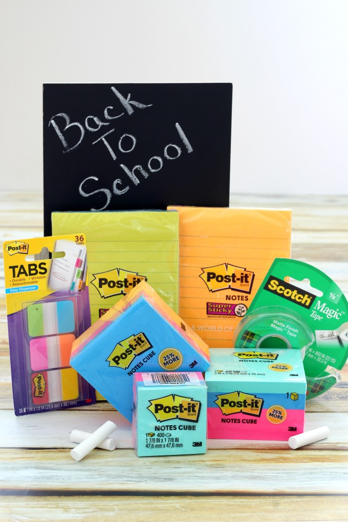 Post-it® Brand Products are perfect for back to school