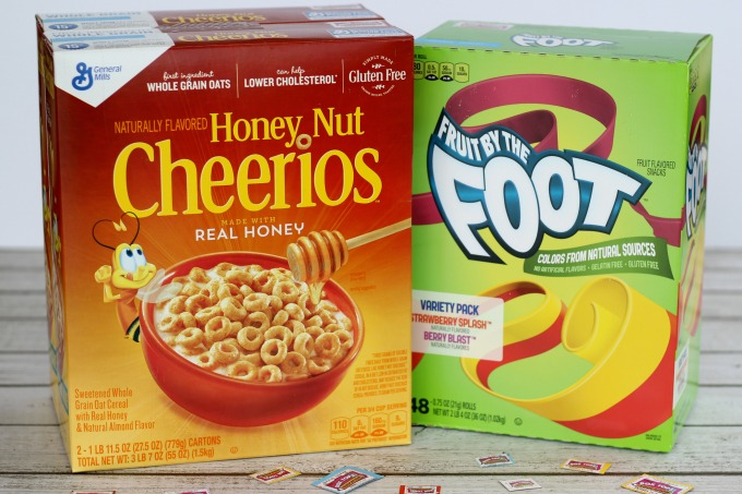 We've made a Box Tops Collection Box with a Cheerios Box too