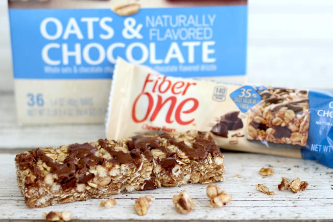 These Fiber One bars are perfect for on-the-go and the box makes the Purrfect Box Tops Collection Box