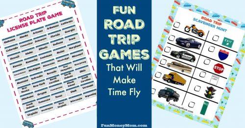 Road Trip Games FB