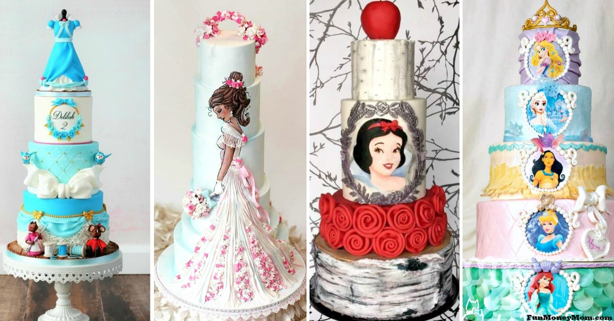 25 Amazing Disney Princess Cakes That You Have To See Believe
