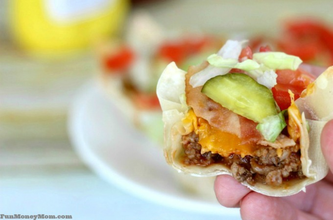 Deliciously Fun Bacon Cheeseburger Cups