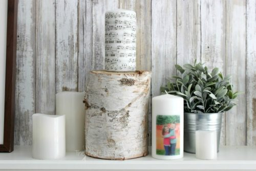 creative photo crafts - candles