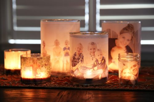 creative photo crafts - luminaries