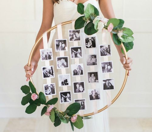 creative photo crafts - wall decor