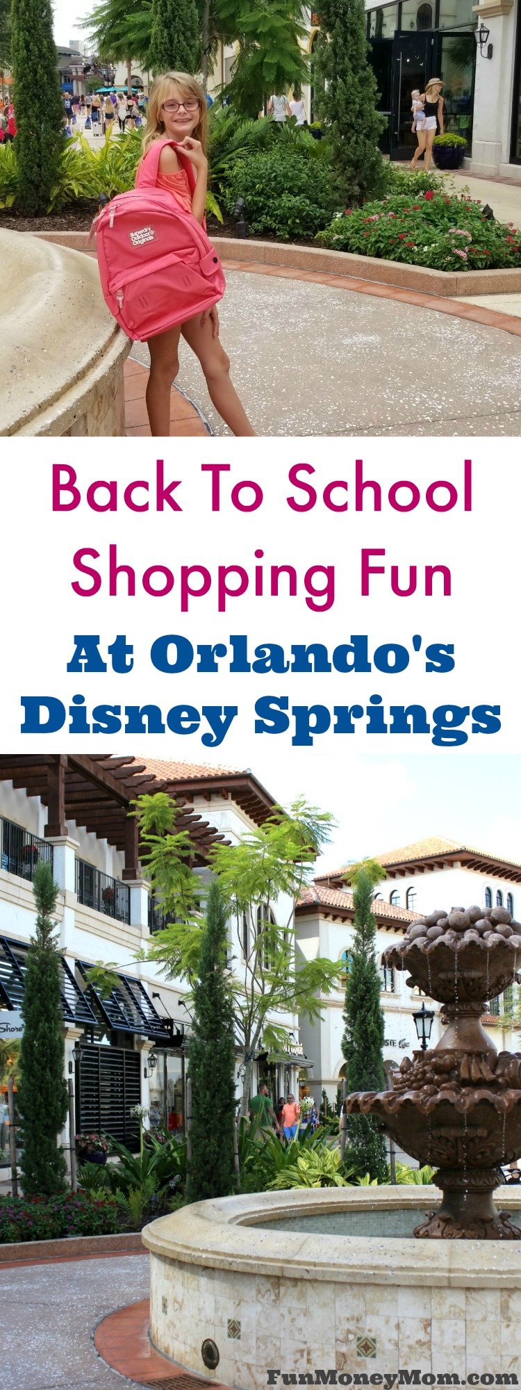 Back to school shopping is so much more fun when you do it at Disney Springs in Orlando #hosted