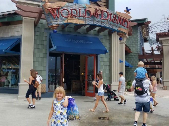 World of Disney has plenty of clothes for your back to school shopping trip