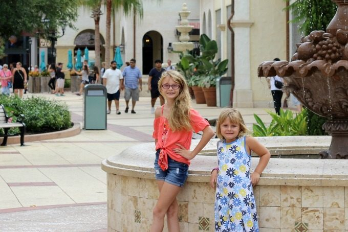 Back to school shopping at Disney Springs is fun for everyone.