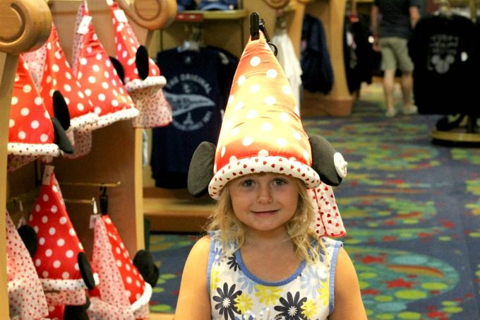 Keira loves back to school shopping for hats