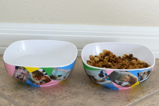 After a final layer of Modge Podge, your bowls are ready