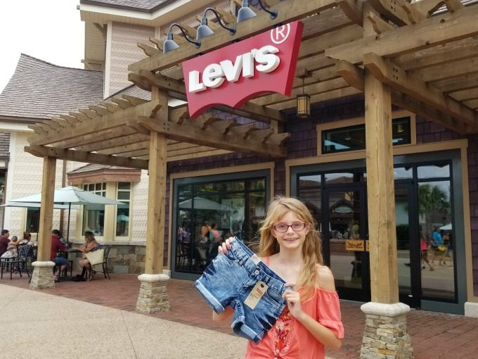 Levi's has plenty of jeans and shorts to choose from