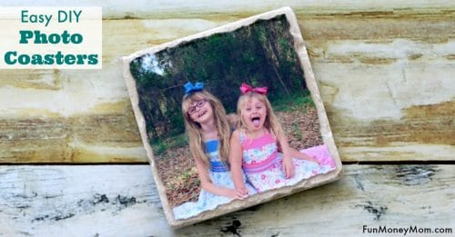 Easy DIY Photo Coasters