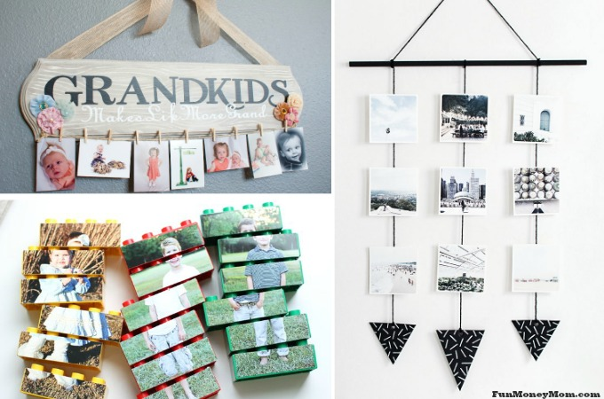11 Creative Photo Crafts For Showing Off Your Family Photos