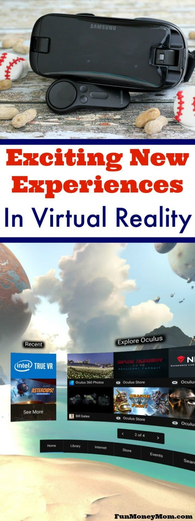 Check out the latest experiences in virtual reality, including something special for baseball fans!
