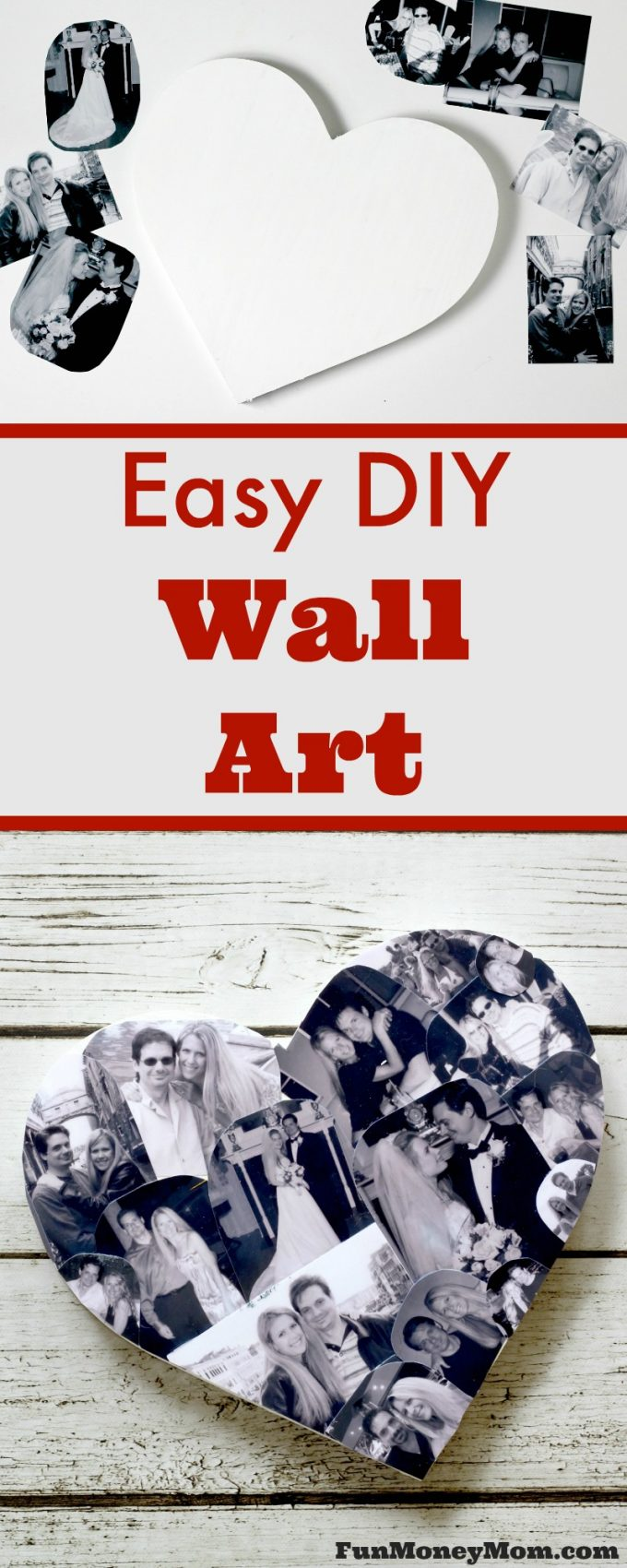 Looking for a great gift idea or just want some new wall decor? This DIY Wall Art is easy to make and looks beautiful on any wall! It even makes a great kids craft.