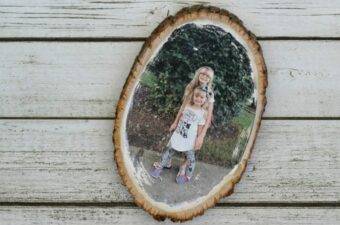 wood photo transfer feature