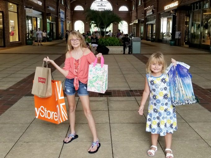 Our back to school shopping trip at Disney Springs was a big success