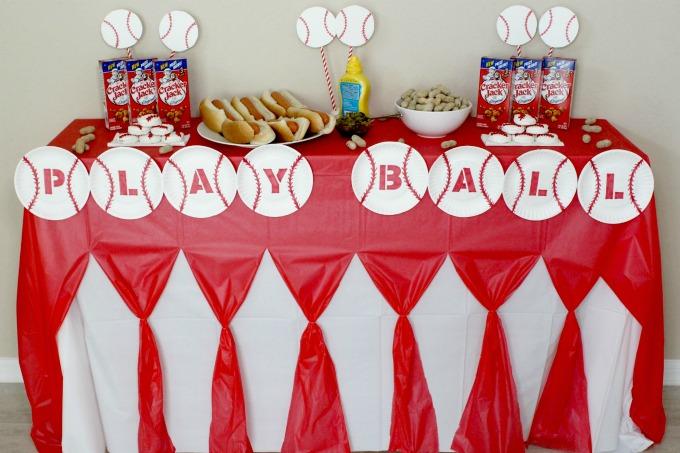 This easy baseball party will be a hit!