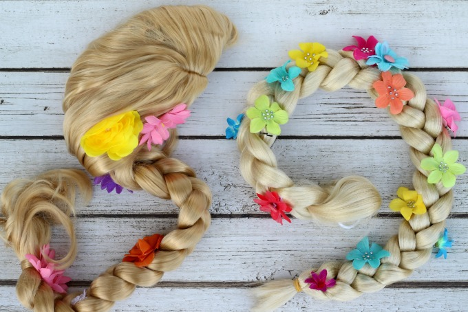You can't be Rapunzel without a braid!