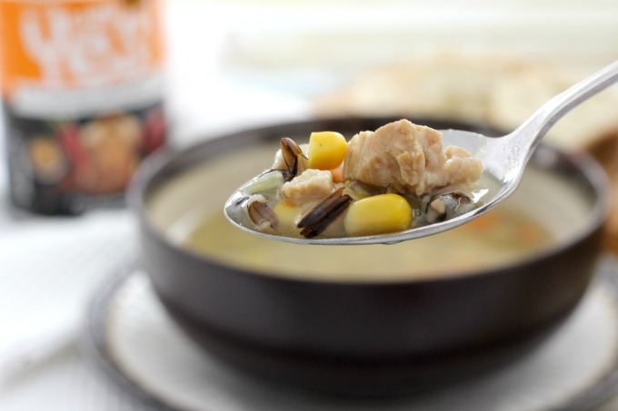 Well Yes! soups use chicken with no added antibiotics