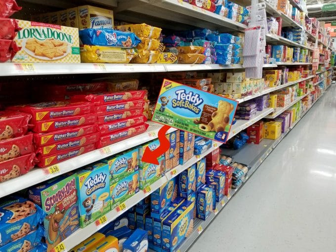 Find Teddy Soft Baked Filled Snacks in your local Walmart