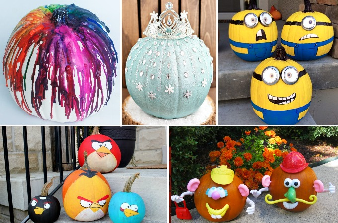 21 Of The Best No Carve Pumpkins For Kids