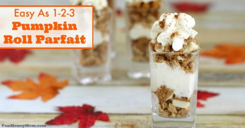 Pumpkin Roll Parfait FB